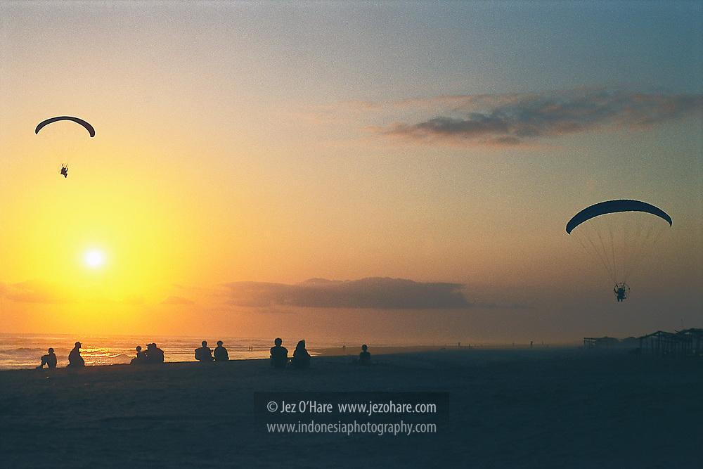 Parangtritis Beach, Bantul, Yogyakarta, Java, Indonesia.