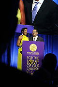 NEW YORK, NEW YORK- FEBRUARY 11: Tamron Hall (Host) and Dr. Michael Eric Dyson (Host) attend the National CARES Mentoring Movement 'FOR THE LOVE OF OUR CHILDREN' Gala Inside held at the Zeigfeld Ballroom on February 11, 2019 in New York City.  (Photo by Terrence Jennings/terrencejennings.com)