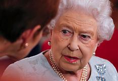 The Queen attends a WRNS 100 Reception - 12 Oct 2017