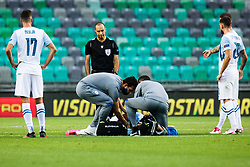 during the UEFA Nations League C Group 3 match between Slovenia and Moldova at Stadion Stozice, on September 6th, 2020. Photo by Grega Valancic / Sportida