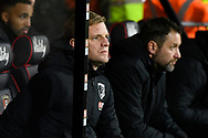 AFC Bournemouth manager Eddie Howe during the The FA Cup match between Bournemouth and Arsenal at the Vitality Stadium, Bournemouth, England on 27 January 2020.