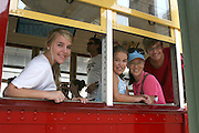 """A ride on the trolley, Memphis, Tennessee. MSN Living's website named Memphis among the Top 20 travel destinations in the world, making it the second Top 20 ranking for Memphis this year. In December, National Geographic Traveler named the city one of the 20 """"must-see places"""" in the world."""