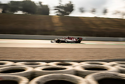 February 19, 2019 - Montmelo, BARCELONA, Spain - SPAIN, BARCELONA, 19 February 2019. Giovinazzi driver of Alfa Romeo during the second day of winter test at Circuit de Barcelona Catalunya. (Credit Image: © AFP7 via ZUMA Wire)