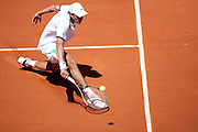 Roland Garros 2011. Paris, France. May 25th 2011..French player Guillaume RUFIN against Gael MONFILS