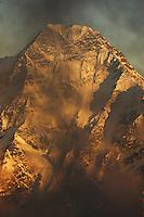 Mount Donguzorun (4468 m asl), seen from Elbrus, Caucasus, Russia