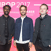NLD/Amsterdam/201702013- Edison Pop Awards 2017, Band Yung Internet