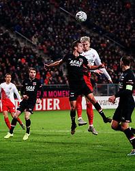 23-11-2019 NED: FC Utrecht - AZ Alkmaar, Utrecht<br /> Round 14 / Stijn Wuytens #30 of AZ Alkmaar, Simon Makienok #23 of FC Utrecht