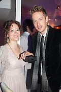 JOSINA VON DEN BASSCHE-KESSELL; GRANT HARVEY-DUDSON, Grey Goose Winter Ball to benefit the Elton John Aids Foundation. Battersea Power Station. London. 10 November 2012.