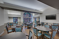 Interior image of Basilica Place Apts in Baltimore Maryland by Jeffrey Sauers of Commercial Photographics, Architectural Photo Artistry in Washington DC, Virginia to Florida and PA to New England