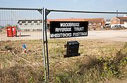Redevelopment of Whisstocks former industrial site, Woodbridge, Suffolk, England, UK