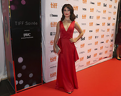 September 6, 2017 - Toronto, Ontario, Canada - TORONTO, ON - SEPTEMBER, 6   Actor Katie Boland..TIFF Soiree is a fundraising event at the TIFF Bell Lightbox.  Stars and dignitaries were on hand to walk the red carpet into the event.  Actor, producer and activist Priyanka Chopra was the guest of honour..September, 6 2017  Richard Lautens/Toronto Star (Credit Image: © Richard Lautens/The Toronto Star via ZUMA Wire)