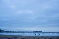 Hobuck Beach on the Olympic Peninsula, Washington.