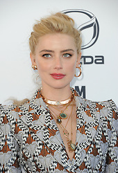 Amber Heard at the 35th Annual Film Independent Spirit Awards held at the Santa Monica Beach in Santa Monica, USA on February 8, 2020.