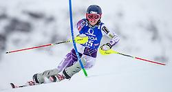29.12.2014, Hohe Mut, Kühtai, AUT, FIS Ski Weltcup, Kühtai, Slalom, Damen, 1. Durchgang, im Bild Paula Moltzan (USA) // Paula Moltzan of the USA in action during 1st run of Ladies Slalom of the Kuehtai FIS Ski Alpine World Cup at the Hohe Mut Course in Kuehtai, Austria on 2014/12/29. EXPA Pictures © 2014, PhotoCredit: EXPA/ JFK