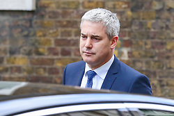 March 26, 2019 - London, UK, United Kingdom - Stephen Barclay- Brexit Secretary is seen departing from No 10 Downing Street after attending the National Security Council meeting. (Credit Image: © Dinendra Haria/SOPA Images via ZUMA Wire)