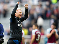 Football - 2021 / 2022 Premier League - Newcastle United vs West Ham United - St James Park - Sunday 15th August 2021<br /> <br /> West Ham manager David Moyes at full time<br /> <br /> Credit: COLORSPORT/Bruce White