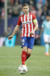 15-03-2016 ESP, UEFA CL, Atletico Madrid - PSV Eindhoven, Madrid<br /> Atletico de Madrid's Gabi Fernandez // during the UEFA Champions League Round of 16, 2nd Leg match between Atletico Madrid and PSV Eindhoven at the Estadio Vicente Calderon in Madrid, Spain on 2016/03/15. <br /> <br /> ***NETHERLANDS ONLY***