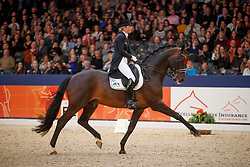 Freese Isabel, NED, Bordeaux<br /> KWPN Stallionshow - 's Hertogenbosch 2018<br /> © Hippo Foto - Dirk Caremans<br /> 02/02/2018