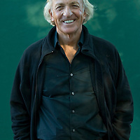 EDINBURGH, SCOTLAND - AUGUST24  John Pilger, journalist and filmaker poses during a portrait session held at Edinburgh Book Festival on August 24, 2007  in Edinburgh, Scotland. (Photo by Marco Secchi/Getty Images).