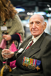 Alfred Huberman at Hidden Heroes, an event celebrating the part played by Jewish volunteers in the Royal Air Force during World War Two, at the RAF Museum in London. The event is part of celebrations to mark the centenary of the RAF. Photo date: Thursday, November 15, 2018. Photo credit should read: Richard Gray/EMPICS