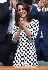 New haircut for Duchess of Cambridge - 3 July 2017