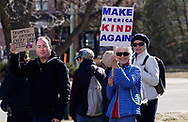 People march through downtown Boulder, Colorado to voice their disapproval of U.S. President Donald Trump's policies Februrary 4, 2017. REUTERS/Rick Wilking