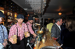 at a party to celebrate the opening of Barts, Sloane Ave, London on 26th February 2009.