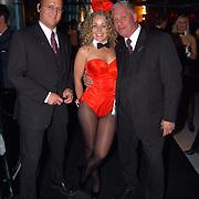 Playboyfeest 2003, bunny met TSC beveiliging
