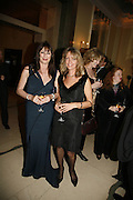 Angelica Huston and Sabrina Guinness. Royal Charity premiere of 'These Foolish things' in aid of the National Osteoporosis Society. Kensington Odeon and afterwards at Claridges. 8 March 2006. ONE TIME USE ONLY - DO NOT ARCHIVE  © Copyright Photograph by Dafydd Jones 66 Stockwell Park Rd. London SW9 0DA Tel 020 7733 0108 www.dafjones.com