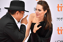 September 11, 2017 - Toronto, Ontario, Canada - ANGELINA JOLIE and RITHY PANH attend the 'First They Killed My Father' premiere during the 2017 Toronto International Film Festival at Princess of Wales Theatre. (Credit Image: © Igor Vidyashev via ZUMA Wire)