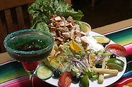 KEVIN BARTRAM/The Daily News.A chicken taco salad is shown at the new Salsa's restaurant in League City on Thursday, April 21, 2005.