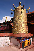 Jokhang Monastery is the most important Buddhist temple in Tibet, located right in the center of Lhasa at Barkhor Square.  Its name means 'House of Buddha'.  For Tibetans it is the most sacred temple in Tibet and has been the key center of Tibetan Buddhist pilgrimage for centuries.