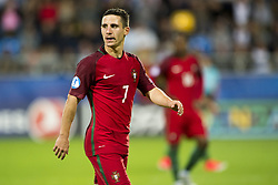 June 20, 2017 - Gdynia, Poland - Daniel Podence of Portugal during the UEFA European Under-21 Championship 2017  Group B match between Portugal and Spain at Gdynia Stadium in Gdynia, Poland on June 20, 2017  (Credit Image: © Andrew Surma/NurPhoto via ZUMA Press)