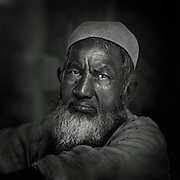 Street portrait - Old Delhi, India