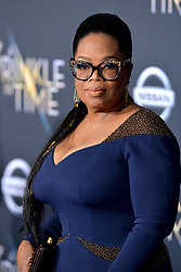 Oprah Winfrey attends the premiere of Disney's 'A Wrinkle In Time' at the El Capitan Theatre on February 26, 2018 in Los Angeles, California. Photo by Lionel Hahn/AbacaPress.com