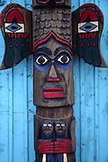 Totem pole, Fort Seward, Haines, Alaska<br />