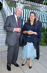 LORD & LADY WALKER OF WORCESTER at a party hosted by Andrew neil and The Business Newspaper held at The Ritz, Piccadilly, London on 12th July 2005.<br /><br />NON EXCLUSIVE - WORLD RIGHTS