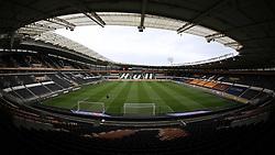 A general view of the KCOM Stadium, home of Hull City - Mandatory by-line: Joe Dent/JMP - 24/10/2020 - FOOTBALL - KCOM Stadium - Hull, England - Hull City v Peterborough United - Sky Bet Championship