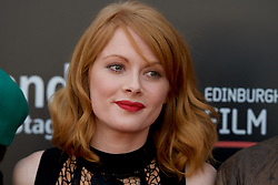 On the red carpet during the Edinburgh International Film Festival Premier of Daphne at Cineworld, Emily Beecham, Friday 23rd June 2017(c) Brian Anderson | Edinburgh Elite media