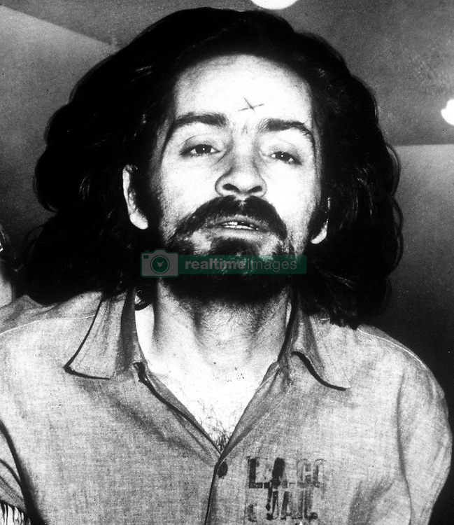 Nov 17, 2017 - FILE - Mass murderer CHARLES MANSON remained alive Friday, authorities said, but details of the illness that brought him to a Bakersfield hospital remain unclear. Cult leader Manson was recently hospitalized and officials are citing medical privacy rules and not announcing his condition. It has been confirmed that he is alive. The 83-year-old inmate has been behind bars in the California prison system for 46 years, convicted for his role in leading the cult that committed a wave of murders. The cult of those who followed him was known as the Manson Family. PICTURED: Charles Manson c.1970's.