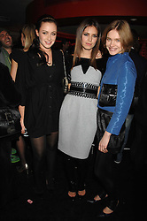 Left to right, CAMILLA AL FAYED, DASHA ZHUKOVA close friend of Roman Abramovich and NATALIA VODIANOVA at a party to celebrate the launch of the Kova & T fashion label and to re-launch the Harvey Nichols Fifth Floor Bar, held at harvey Nichols, Knightsbridge, London on 22nd November 2007.<br /><br />NON EXCLUSIVE - WORLD RIGHTS