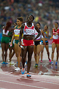 Mcc0055084 . Daily Telegraph<br /> <br />  Englands Anyika Onuora completes the final lap of the Womens 4x400 Relay Final on Day 10 of the 2014 Commonwealth Games in Glasgow .<br /> <br /> <br /> Glasgow 2 August 2014