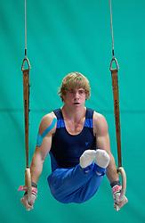Peter Lampret during Slovenian Artistic Gymnastics National Chapionship 2011, on November 20, 2011 in GIB Arena, Ljubljana, Slovenia. (Photo By Vid Ponikvar / Sportida.com)
