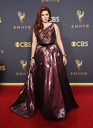 September 17, 2017 Los Angeles, CA Liev Schreiber 69th Emmy Awards - Arrivals held at the Microsoft Theatre L.A. Live © OConnor-Arroyo / AFF-USA.com. 17 Sep 2017 Pictured: Debra Messing. Photo credit: MEGA TheMegaAgency.com +1 888 505 6342