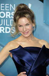 Renée Zellweger at the 26th Annual Screen Actors Guild Awards held at the Shrine Auditorium in Los Angeles, USA on January 19, 2020.