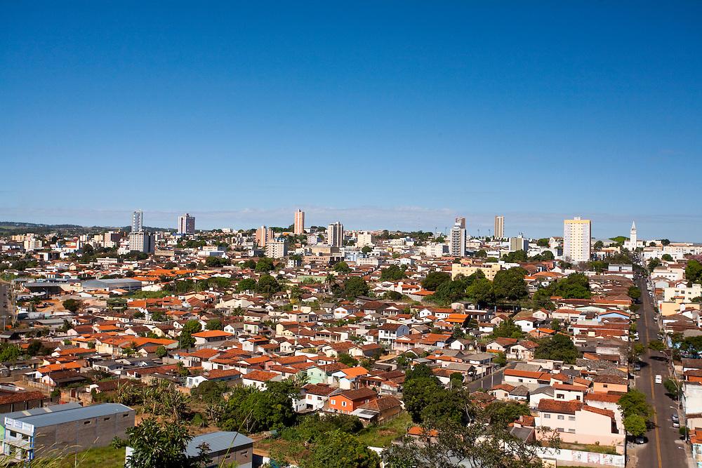 Araxa_MG, Brasil...Vista panoramica de Araxa...The Araxa panoramic view...Foto: LEO DRUMOND / NITRO