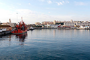 City and harbour Ceuta, Spanish territory in north Africa, Spain