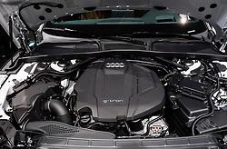 Audi G-Tron gas powered engine at 87th Geneva International Motor Show in Geneva Switzerland 2017