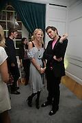 Lady Sophia Hesketh and Oscar Humphries, Garrard Colour And Cocktail Party, Garrard, 24 Albemarle Street, London. 10 May 2007. -DO NOT ARCHIVE-© Copyright Photograph by Dafydd Jones. 248 Clapham Rd. London SW9 0PZ. Tel 0207 820 0771. www.dafjones.com.