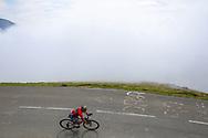 Domenico Pozzovivo (ITA - Bahrain - Merida) during the 105th Edition of Tour de France 2018, cycling race stage 19, Lourdes - Laruns (200 km) on July 27, 2018 in Laruns, France - photo Kei Tsuji / BettiniPhoto / ProSportsImages / DPPI